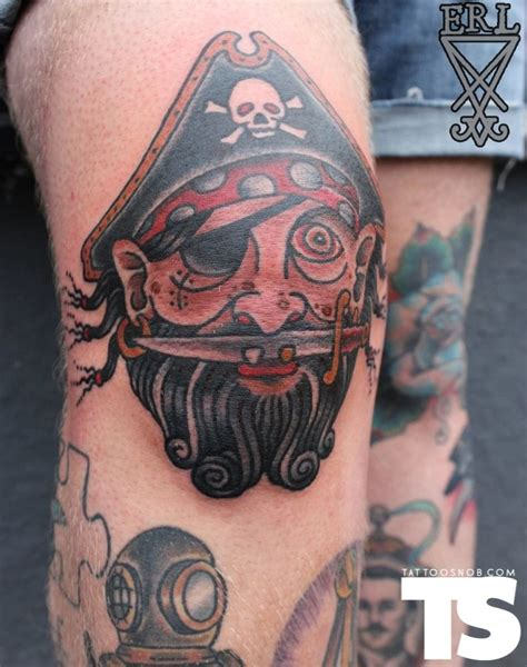 pirate face tattoo 30 adventurous pirate tattoos tattoodo