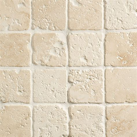 light travertine 10x10x1 tumbled mazzmar stone