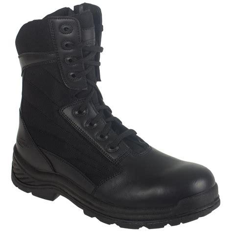 knapp boots mens s knapp 174 8 quot tactical side zip boots black 580935