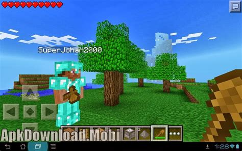minecraft pe apk minecraft pocket edition 0 7 6 apk free