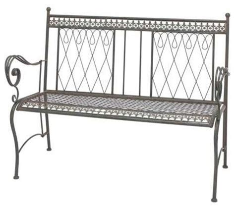 colorful indoor benches metal bench with smeared in black color traditional indoor benches by amb