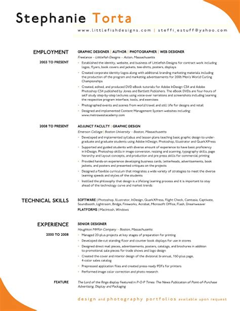 excellent resume format excellent resume sle sle resumes