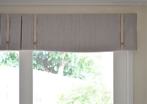 curtains for 8 foot window diy no sew rolled window valance window treatments