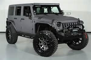 Lifted Jeep Wrangler 4 Door 2015 Jeep Wrangler Unlimited 4x4 Suv 4 Door Lifted 2014