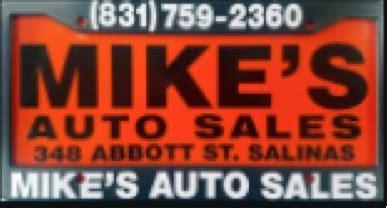 mikes auto sales salinas ca read consumer reviews browse    cars  sale