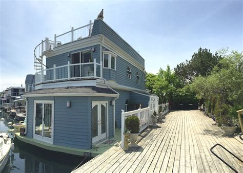 floating houses living on a floating house a tour of toronto s bluffers