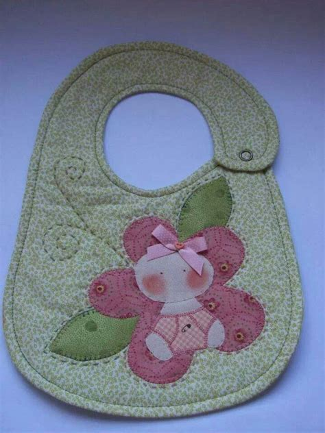 Patchwork For Babies - lindo pat aplique patchwork bibs baby