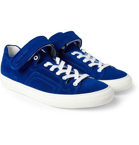 hardy mens sneakers hardy suede sneakers in blue for lyst