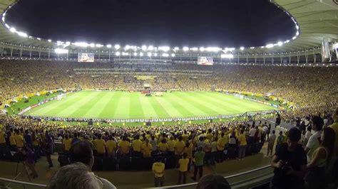 Jogo Brasil Hino Nacional Brasileiro Jogo Brasil X Espanha Maracan 227
