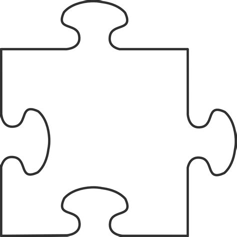 puzzle piece clipart clipart suggest