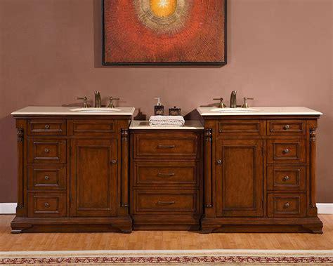 Vanity Rock by 92 5 Quot Marble Top Bathroom Vanity Lavatory Dual Sink Cabinet 246cm Ebay