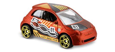 Hotwheels Fiat 500 C Sweetrides fiat 500 in orange hw daredevils car collector wheels