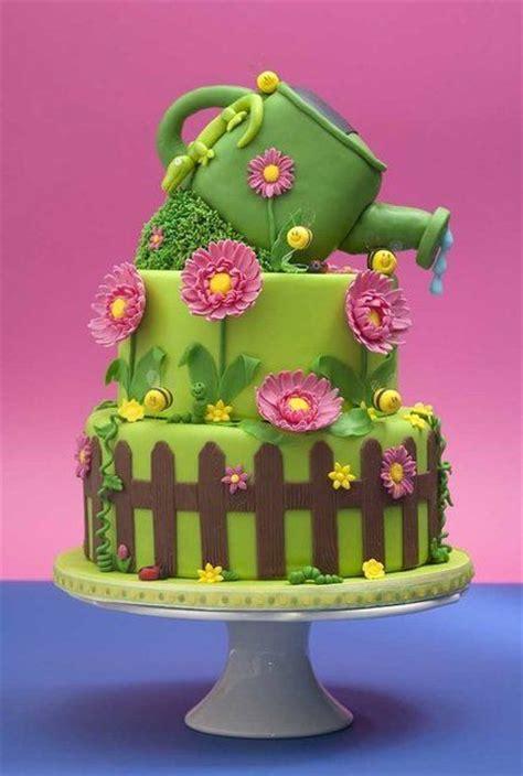 Gardening Cake Ideas 25 Best Ideas About Garden Cakes On Vegetable Garden Cake Garden Birthday Cake And