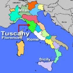 Tuscany Italy Map by Italy Map Tuscany
