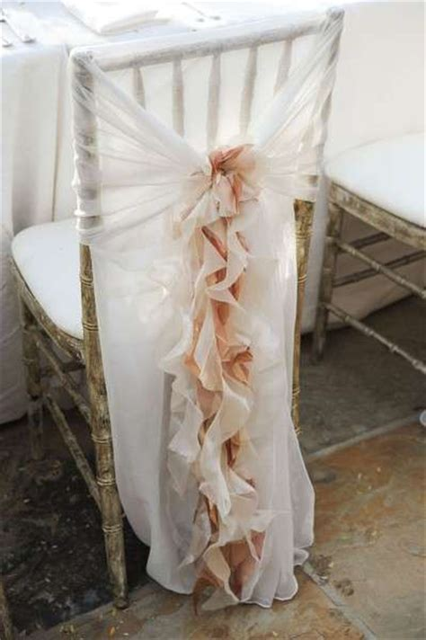 How are you decorating your chairs? : weddingplanning