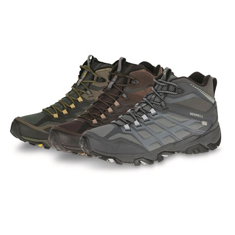 merrell hiking boots merrell s moab fst thermo hiking boots 665552