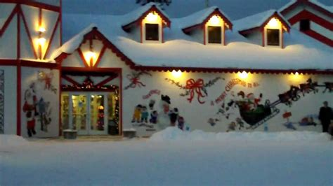 santa claus house north pole ak santa claus house north pole alaska zi6 0039 youtube