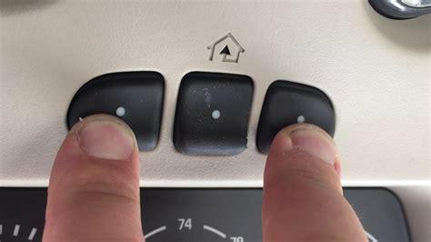 how to program a genie garage door opener your car dandk