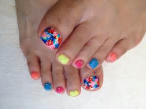summer toe colors toenail designs for summer