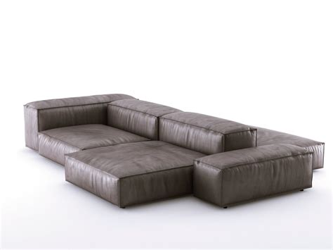 living divani soft extrasoft sofa system 3d model living divani