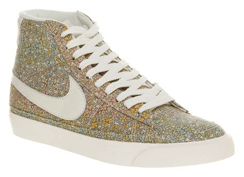 womens nike blazer x liberty of small floral