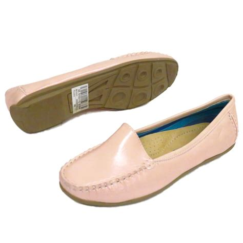 Pearl Pink Shoes pink pearl slip on loafers womens comfort casual