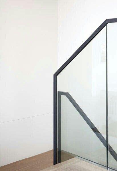 Steel Banister by Steel Glass Handrail Interior Design Handrail