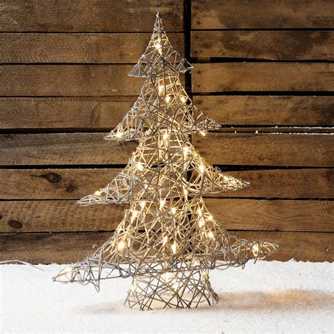 rattan lights rattan christamas tree light by lights4fun