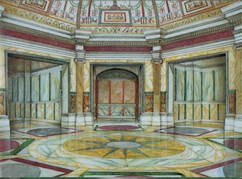 the golden house domus aurea nero s curious quot golden house quot