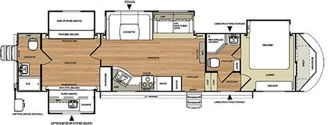 fifth wheel with 2 bathrooms hemisphere fifth wheel by forest river tiny homes