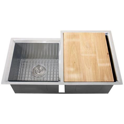 kitchen sink accessories ticor s608r undermount 16 gauge stainless steel kitchen