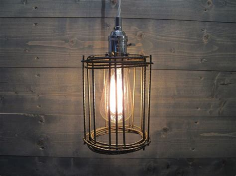 industrial cage work light chandelier 17 best images about l inspiration on
