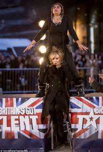 Judges Chair Amanda Holden Lifted Up By Contestant S Ears At Britain S