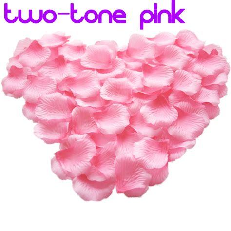 50 Pcs Table Confetti Decoration Silk Petals Flower 200pcs silk flower petals for engagement wedding