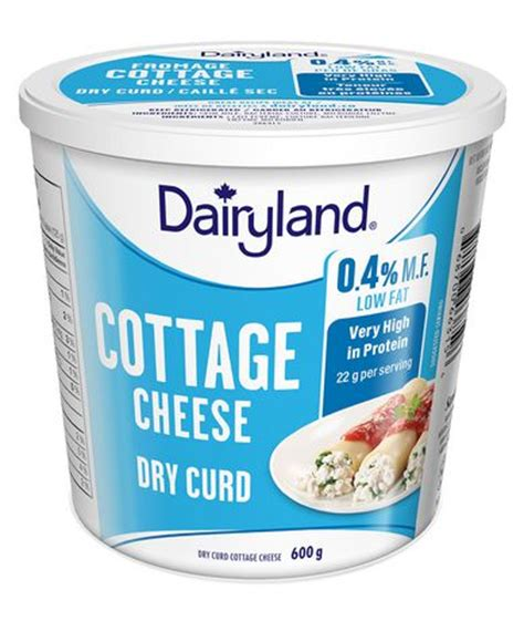 cottage cheese curd dairyland curd cottage cheese walmart canada