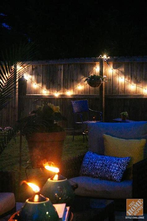 simple patio decorating ideas throw pillows  spray