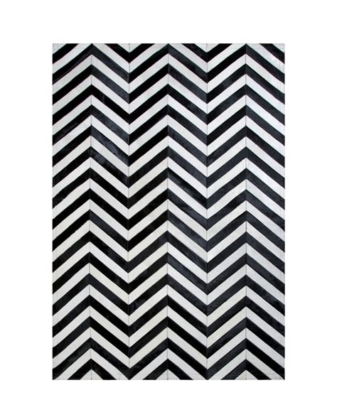alfombras patchwork diseno rayas blanco  negro
