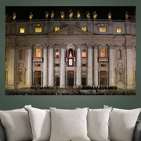 Pope Decor by Pope Francis St Peter S Basilica Mural Wall Decal