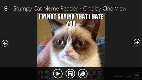 Grumpy Cat Coma Meme - grumpy cat meme reader for windows 8 and 8 1