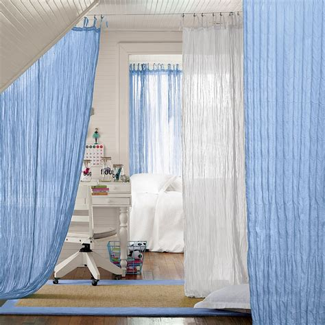 Sheer Curtain Room Divider » Home Design 2017