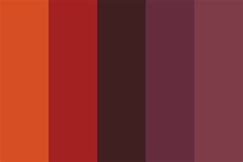 august color august nights color palette