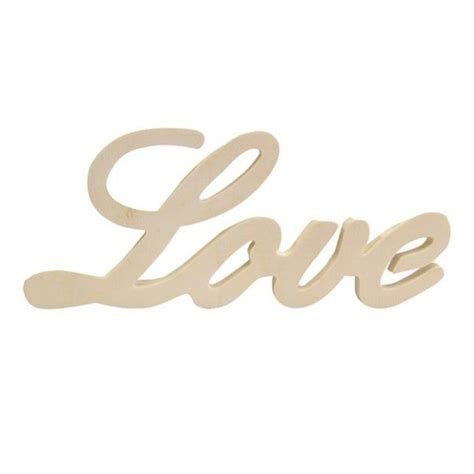imagenes palabra love palabra love de madera cromatismes tienda online de