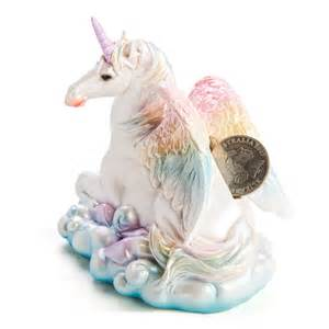 Flying unicorn money bank filly and co horse gifts