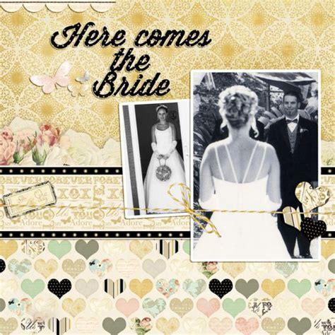 Golden Wedding Album Layout by 1000 Ideas About Wedding Scrapbook On Wedding
