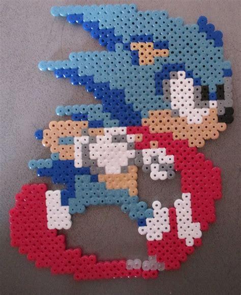 sonic hama sonic en perle 224 repasser pixel en perle 224 repasser