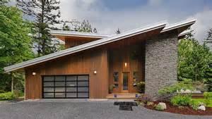 slant roof slanted roof modern cabin modern cabin pinterest cabin and modern