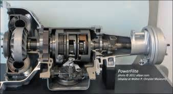 Chrysler Transmissions The Powerflite Automatic Transmission