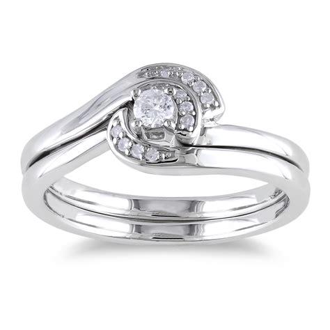 captivating sterling silver wedding ring sets