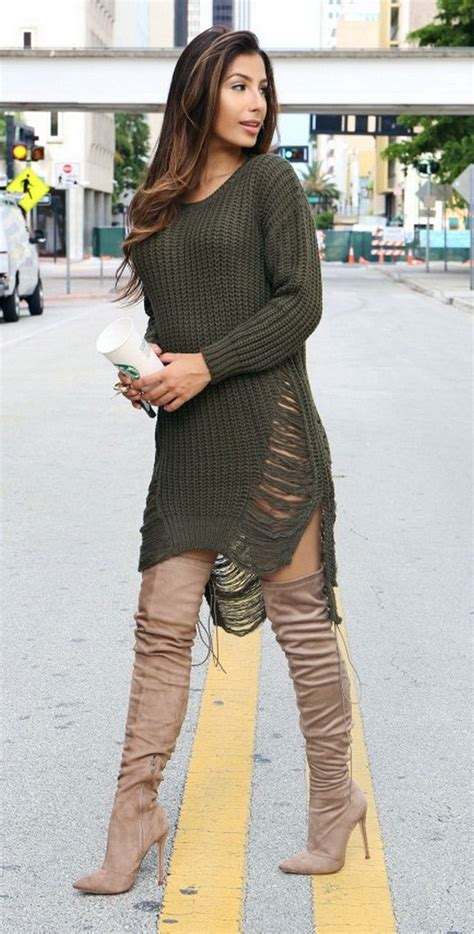 8 Fashion And Style Tips On Wearing Boots by Best 25 Womens Thigh High Boots Ideas On