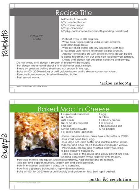 recipe templates for blogger free recipes need to and blog on pinterest